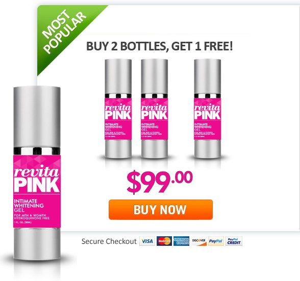 revitaPINK - Buy Two Bottles, Get One Free | Best Intimate Whitening Gel for Men and Women